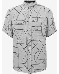 McQ Alexander McQueen | Linear Angle All Over Shirt | Lyst