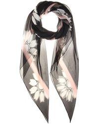 Alexander McQueen Silk Scarf - Lyst