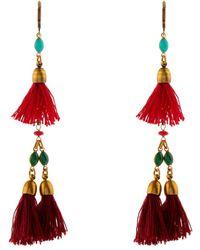 Isabel Marant Mild Tassel Drop Earrings - Lyst