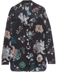 Versus - Floral-print Silk Playsuit - Lyst