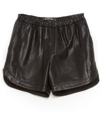 Tess Giberson - Leather Shorts - Lyst