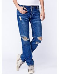 Free People Clive Destroyed Jeans - Lyst