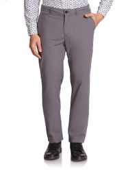 Burberry Brit Cotton Chino Pants - Lyst