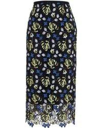 Erdem Safia Lace Skirt - Lyst