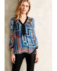 Twelfth Street by Cynthia Vincent Labyrinth Peasant Blouse - Lyst