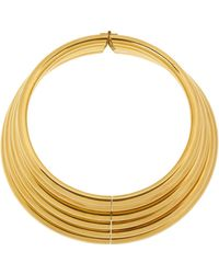 Vickisarge | Burma Gold-Plated Necklace | Lyst