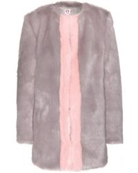Shrimps Gloria Faux Fur Coat - Lyst