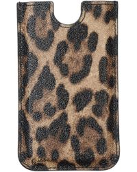 Dolce & Gabbana Cell Phone Case - Lyst