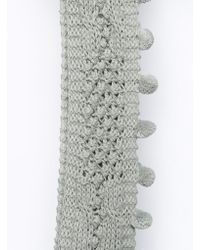French Connection - Chunky Pom Pom Snood - Lyst
