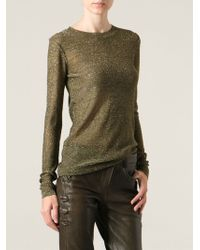 Isabel Marant Venice Sheer Top - Lyst