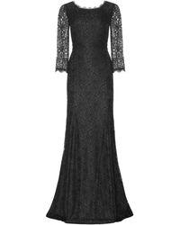 Diane Von Furstenberg Zarita Floorlength Lace Gown - Lyst