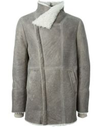 IRO - Funnel Neck Coat - Lyst