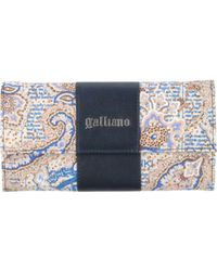 John Galliano Wallet - Lyst
