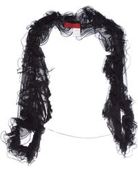 Valentino Shrug black - Lyst