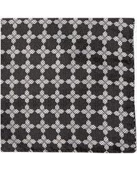 Duchamp Geo Tile Pocket Square - Lyst