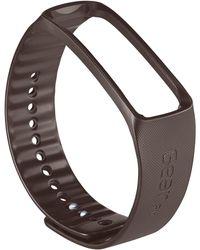 Samsung - Gear™ Fit Unisex Gray Flexible Strap Watch Accessory 47mm Et-sr350bsesta - Lyst