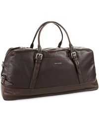 Cole Haan - Vegan Leather Duffle Bag - Lyst
