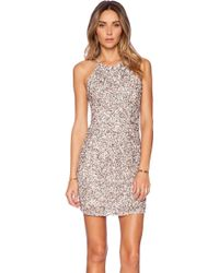 Parker Jaden Embellished Dress - Lyst