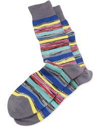 Paul Smith U-twist Stripe Socks - Lyst