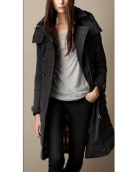 Burberry Downfilled Parka - Lyst