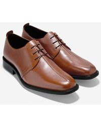 Cole Haan Cain Center Seam Oxford brown - Lyst