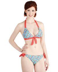 Marie Meili - Along The Coastline Swimsuit Top - Lyst