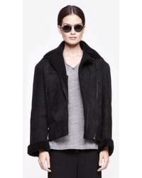 Rag & Bone Shearling Jacket - Lyst