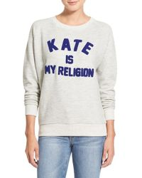 ELEVEN PARIS - 'kate Is My Religion' Pullover - Lyst