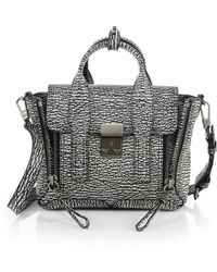 3.1 Phillip Lim Pashli Mini Two-Tone Satchel - Lyst