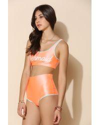 This Is A Love Song - Mermaid Bikini Top - Lyst