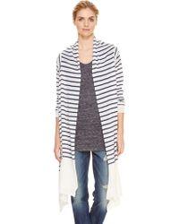 DKNY Pure Stripe Linen Cozy - Lyst