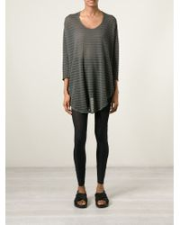 Lost & Found - Semi Sheer Loose Fit Top - Lyst