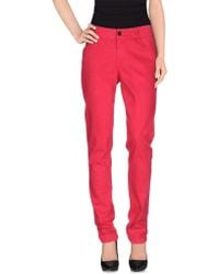 Black Orchid - Casual Trousers - Lyst