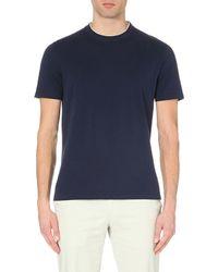 Crew-neck cotton-jersey T-shirt Brunello Cucinelli Cheap Sale Recommend oD0vvHuCz