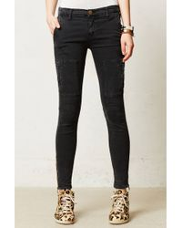 Current/Elliott Flat Pocket Cargo Jeans - Lyst