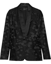 Jill Stuart Antonia Silk and Cottonblend Blazer - Lyst