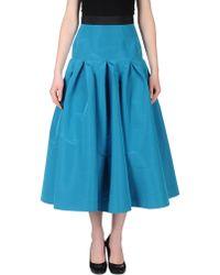 Katie Ermilio - 34 Length Skirt - Lyst