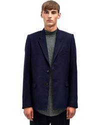 Damir Doma Mens Juniata Two Button Wool Jacket - Lyst