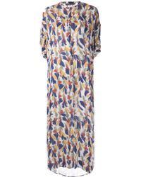 Christophe Lemaire - Printed Maxi Dress - Lyst