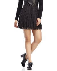 Jolt - Laser-Cut Skirt - Lyst
