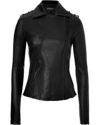 Jitrois Leather New Rider Biker Jacket - Lyst