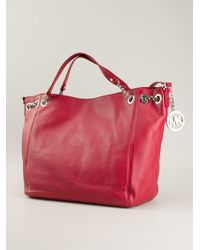 Michael Kors Chain Details Slouchy Tote Bag - Lyst