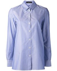 Thakoon Striped Shirt - Lyst