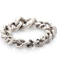 Maison Margiela Chain Bracelet - Lyst