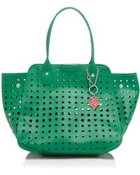 Love Moschino Tote - Heart Perforated - Lyst