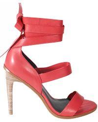 Tibi Pierce Sandals - Lyst