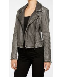 Blank Jacket gray - Lyst
