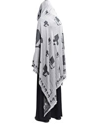 Thamanyah - Oversized Printed Scarf - Lyst