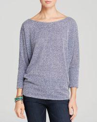 Velvet By Graham & Spencer Sweater - Sia Textured Knit - Lyst