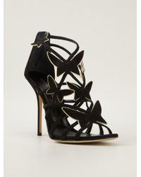 Casadei Butterfly Detail Sandals - Lyst